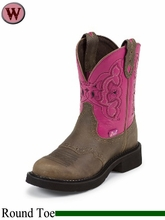 Justin Boots Women's Justin Gypsy Castle Brown Cowhide Boots L9926