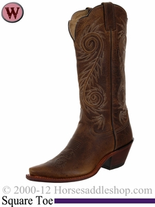 Justin Boots Women's Tan Damiana Fashion Boots L4332