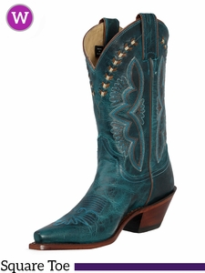 Justin Boots Women's Turquoise Damiana Fashion Boots L4302