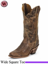 Justin Boots Women's Western Tan Road Boots BRL122