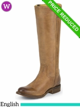 Justin Boots Womens Tan Rustico MSL502 ZDS CLEARANCE