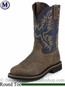Justin Copper Kettle Rowdy Stampede Collection Boots WK4665
