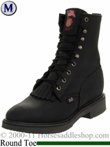 Justin Men's Black Pitstop Boots 763