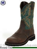 Justin Men's Work Boot - Rugged Tan 4670