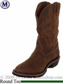 Justin Waterproof Cowboy Workboot Bay Apache 4936