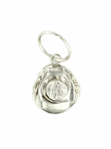 Key Ring with Silver Cowboy Hat by M&F 2302836