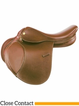 "16.5"" to 17.5"" Kincade Leather Close Contact Saddle 746005"