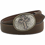Ladies Brown Belt by Nocona 3444202