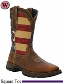 Lady Rebel by Durango Women's Patriotic Pull-On Western Boot RD4414