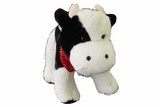 "Large 9"" Plush Barnyard Cow 50696"