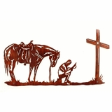 Cowboy Prayer Wall Mount 94542