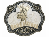 M&F Crumrine Rough Stock Bull Rider Buckle C08669