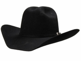 M&F Double S Dallas Black Felt Cowboy Hat 7101001