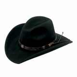 M&F Twister Dakota Crushable Black Cowboy Hat 7211001