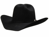 M&F Twister Dallas Black Felt Cowboy Hat 7101001
