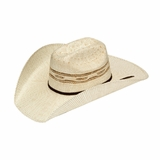 M&F Twister Two Tone Bangora Straw Cowboy Hat T71624