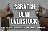 Manufacturer Scratch, Dent or Overstock Saddles