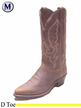 DISCONTINUED Men's Abilene Brown Western Boots 6434