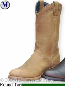 Men's Abilene Western Work Boots Safety Toe 2104ST