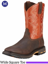 Men's Ariat Dark Earth WorkHog Boots 10005888