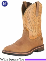 Men's Ariat Dusted Brown Groundbreaker Boots 10015190