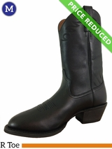 Men's Ariat Sedona Black Leather Boots 10002192 ZDS CLEARANCE