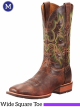 Men's Ariat Weathered Chestnut Tombstone Boots 10010285