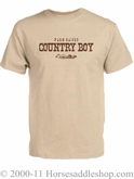 NO LONGER AVAILABLE Men's Country Boy Farm Raised Tee Shirt