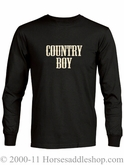 NO LONGER AVAILABLE Men's Country Boy Long Sleeve T