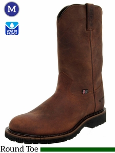 Men's Justin Waterproof Wyoming Cowboy Work Boot 4960