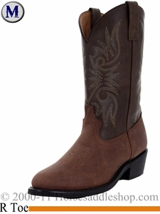 Men's Laredo Paris Tan Distressed Leather Boot 4242
