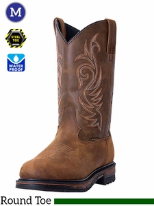 Men's Laredo Sullivan Steel Toe Boots 68132