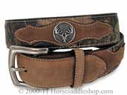 Men's Nocona Outdoor Mossy Oak Belt - Antlers Rack 24372222