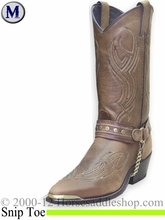 Men's Sage Brown Harness Western Boots 3012