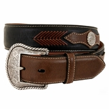 Men's Top Hand Western Belt - Black 2474001