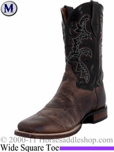 Mens Dan Post Franklin Cowboy Certified Sand and Black Boot DP2815