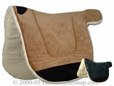 Microsuede Saddle Pad by Toklat ptl-40-ms