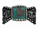 Montana Silversmiths Blue Earth & Filigree Cuff Bracelet BC1228