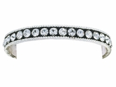 Montana Silversmiths Crystal Shine Bangle Bracelet BC1032