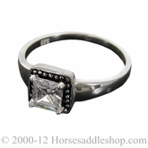 Montana Silversmiths Princess Solitaire Ring RG20CZ
