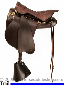 ** SALE **Tucker Montreal Royal Trooper Trail Saddle 138