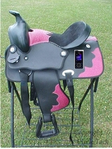 "New Limited Edition ""Metro-Man"" Saddle w/Portable Sirius Radio"