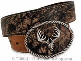 Nocona Hunting Outdoor Mossy Oak Belt 24380222