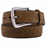 Nocona Mens Brown Distressed Leather Belt N2450444