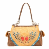 Nocona Peace Winged Heart Purse N7519808