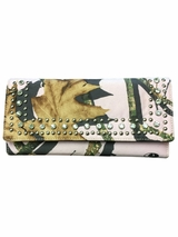 Pink Mossy Oak Camo Checkbook Cover/Wallet with Rhinestones N7437930