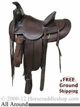 """PRICE REDUCED! 14"""" Used N Porter All Around Saddle usnp2332 *Free Shipping*"""