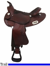 "** SALE ** PRICE REDUCED! 15.5"" Big Horn Trail Saddle 908"