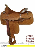 "PRICE REDUCED!! 15"" Used McClellands Show Saddle with TACK usml1966 *Free Shipping*"