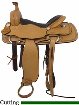 "PRICE REDUCED! 16"" Big Horn Ranch Cutting Saddle 865"